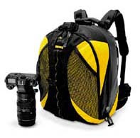 Lowepro Dryzone 200 with camera