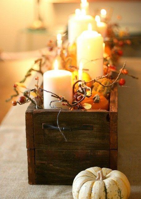 Use a wood table box
