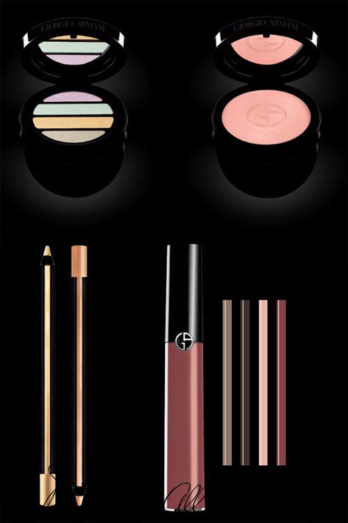 maquillajes Luce Armani 2012