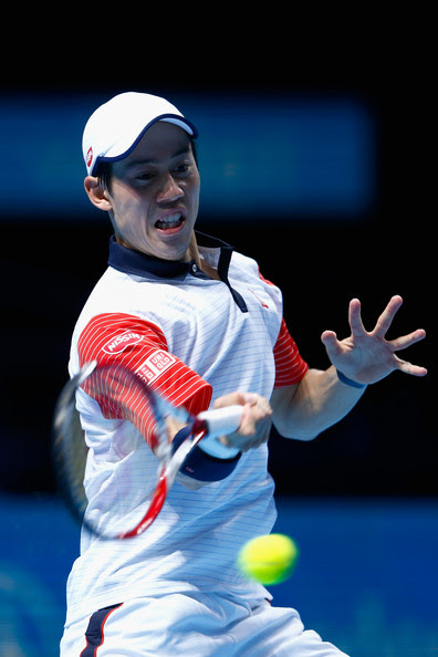 Kei Nishikori - Barclays ATP World Tour Finals - Day One