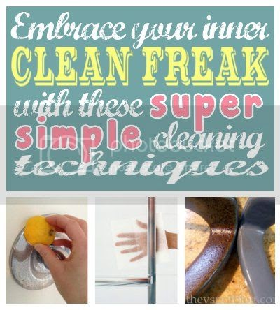 DIY Home Sweet Home: Super Simple Cleaning Techniques