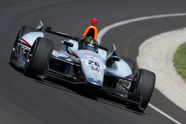 Kurt Busch - 98th Indianapolis 500 Mile Race: Practice