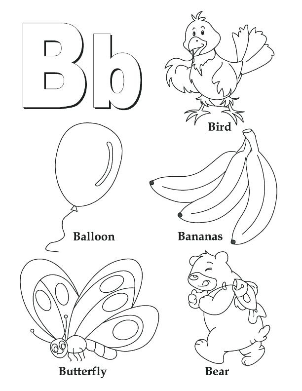51 Coloring Pages For The Letter A Images & Pictures In HD