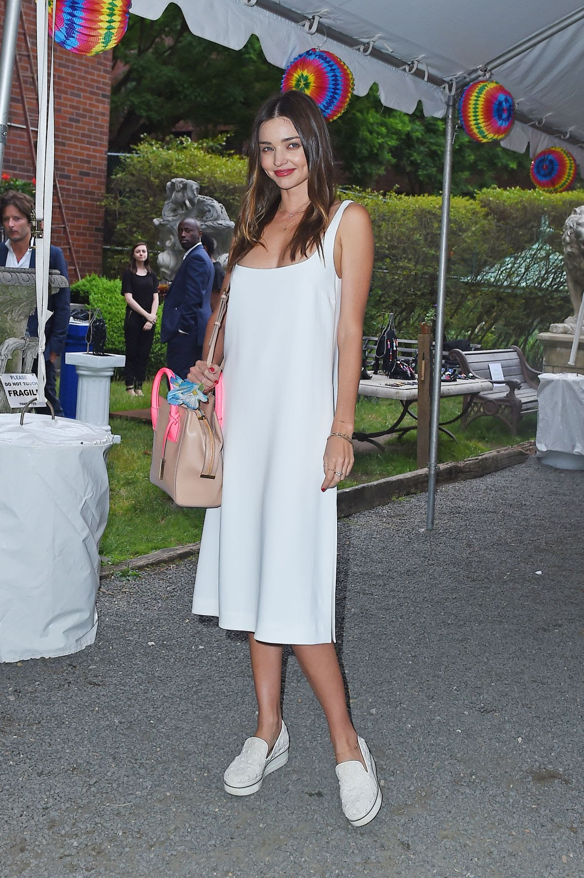 MIRANDA KERR at Stella Mccartney Spring 2016 Presentation in New York