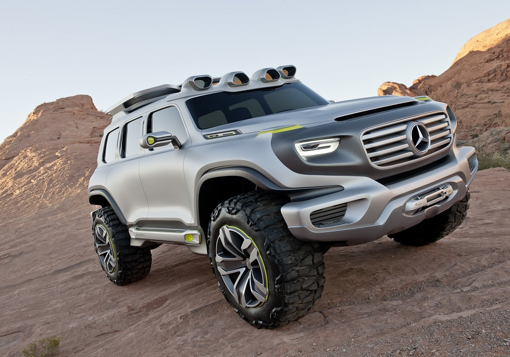 Mercedes May Make Several G-Wagon Crossover Models ...