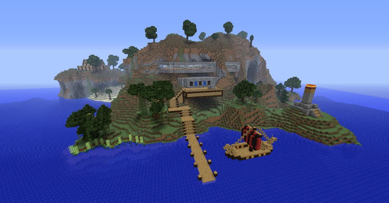 Pumpkin Resort - Minecraft Island Resort Project Contest ...