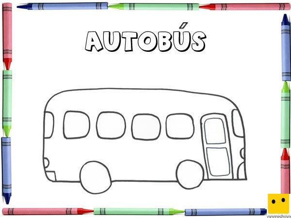 Autobuses Dibujos Para Ninos Cantineoqueteveo
