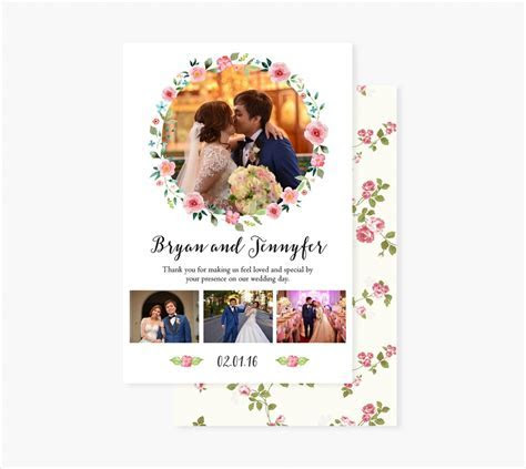17  Wedding Thank You Card Designs   PSD, Vector EPS Download