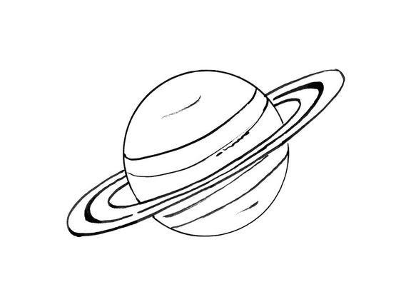 Coloriage Planète 6 Coloriage Planetes Coloriages Ciel Et Espace