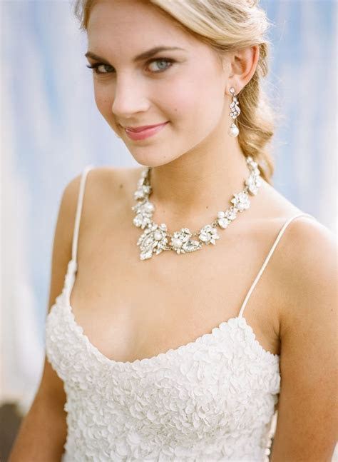 Top 10 ideas about Statement Wedding Necklaces on