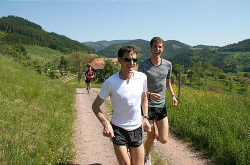 ... um die 7. Berglauf-Europameisterschaften 2008 in Zell am Harmersbach
