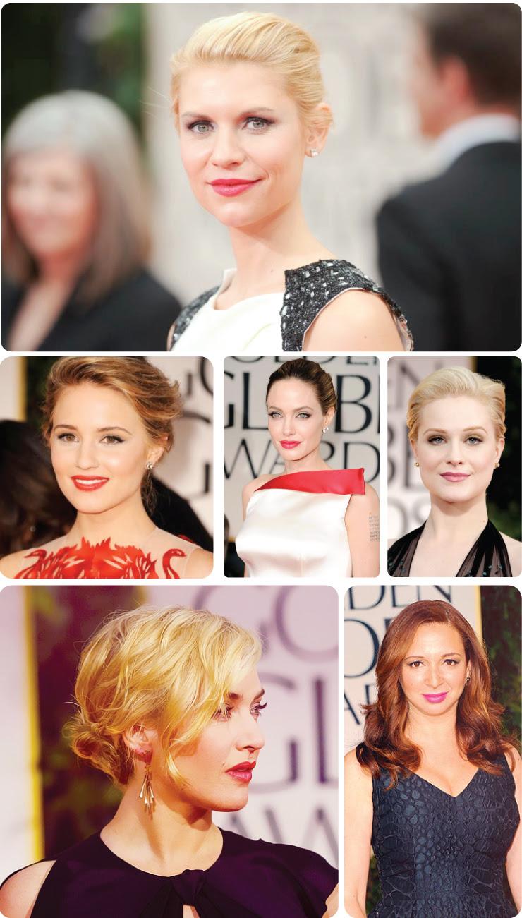 Lipstick at the Golden Globes