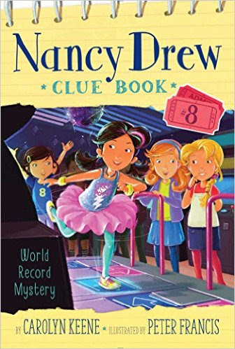 Nancy Drew Clue Book Cover Art