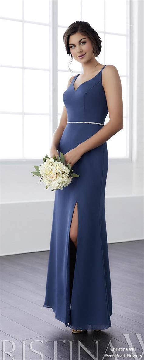 Christina Wu Bridesmaid Dresses 2018   Deer Pearl Flowers