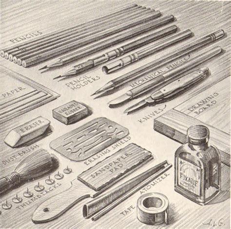 pencil drawing art supplies equipment  pencil