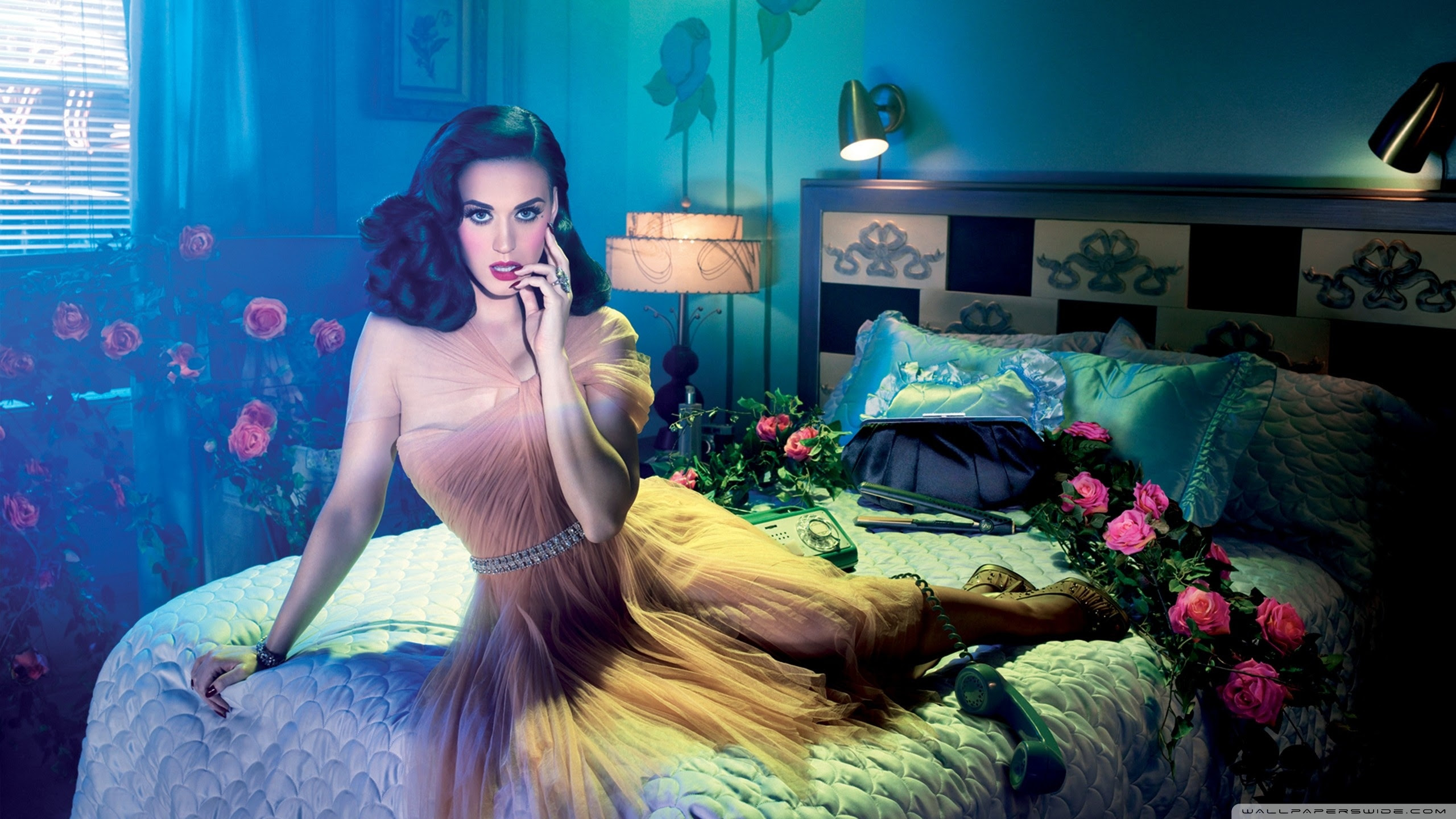 Katy Perry Pin Up Girl Ultra Hd Desktop Background Wallpaper For