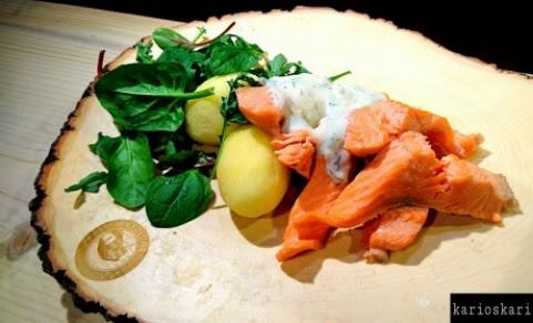 Keitettyä kalaa 10.3.17
