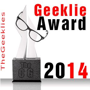 2014 Geeklie Award