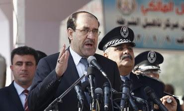 Iraq Prime Minister Nuri al-Maliki