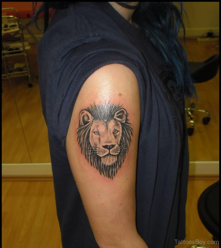 Lion Head Tattoo On Shoulder Tattoo Designs Tattoo Pictures
