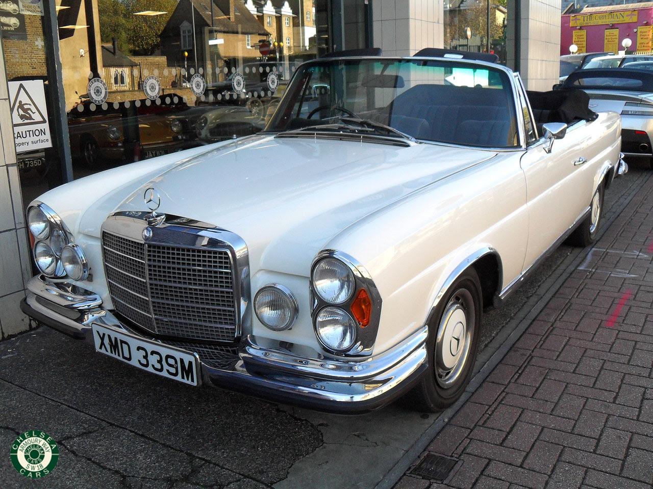 1974 Mercedes 280 SE 3.5 Cabriolet For Sale | Chelsea Cars