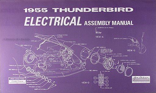 Get 1955 Ford Victoria Wiring Diagram Background