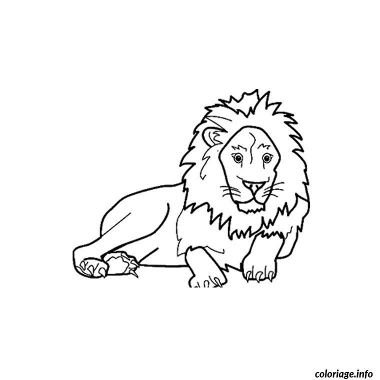Coloriage Animaux Savane Africaine Jecoloriecom