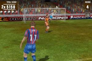 صورة من لعبة Football Kicks