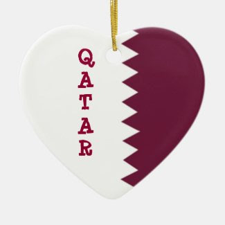 Flag of Qatar Ornament