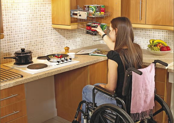 Wheelchair Accessible Cooktop
