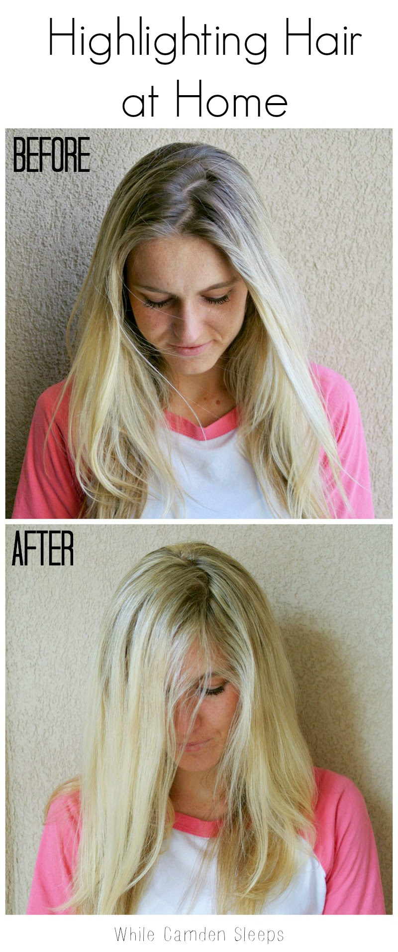 RefashioningHair: Highlighting hair at home