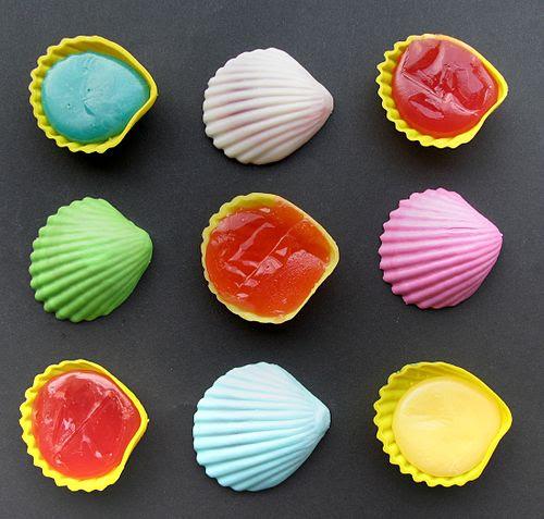 Schleckmuscheln - multi-colored