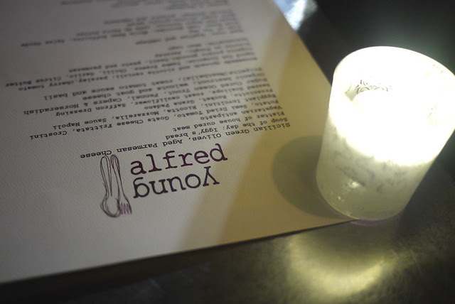 Dinner at Young Alfred Cafe (Sydney, Australia)