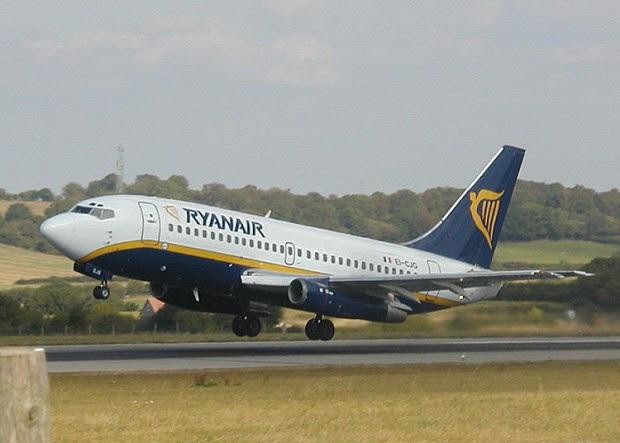 Sensazionale! Scie chimiche & Ryanair_ le analisi dell'aria in cabina