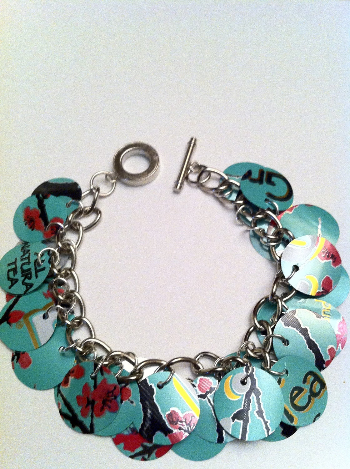 Soda Can Bracelet - Arizona Green Tea