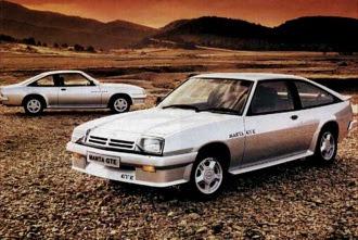 Opel Mantas