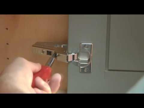 Inset Concealed Hinge Adjustment - YouTube