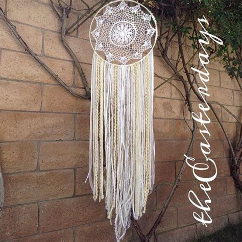 bohemian wedding dreamcatcher whites ivories by