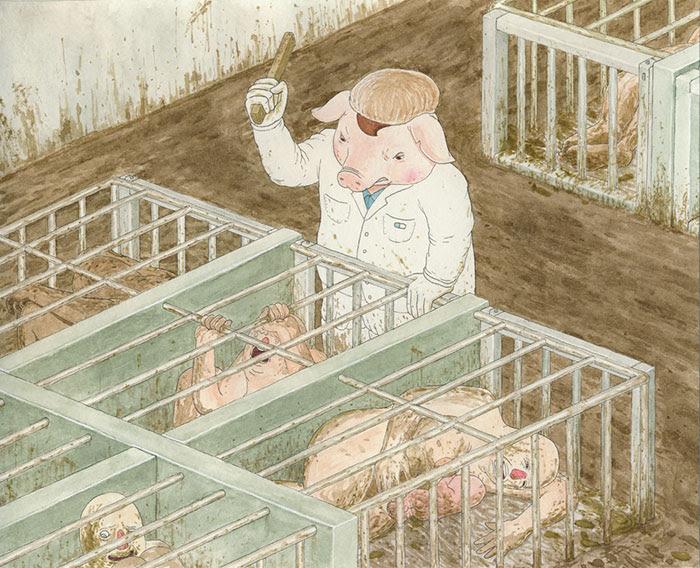 ilustraciones-satiricas-mundo-animal (4)