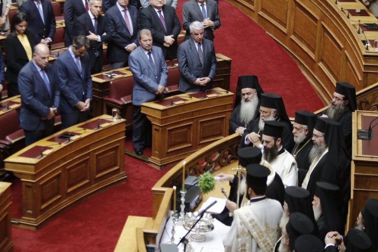 Αγιασμός στη Βουλή – Ιερώνυμος για αλλαγή φύλου: Παιχνιδίσματα για να περνάμε την ώρα μας   Newsit.gr