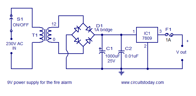 9V power supply