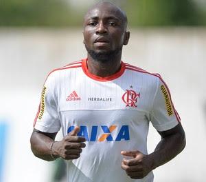 Armero treino Flamengo Ninho do Urubu (Foto: Pedro Martins/Agif/Estadão Conteúdo)