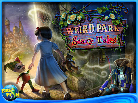 Screenshots of the Weird park 2: Scary tales for Android tablet, phone.