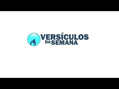 VÍDEO: VERSÍCULOS DA SEMANA