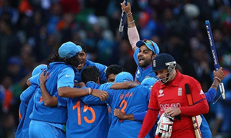 India won the Champions Trophy final