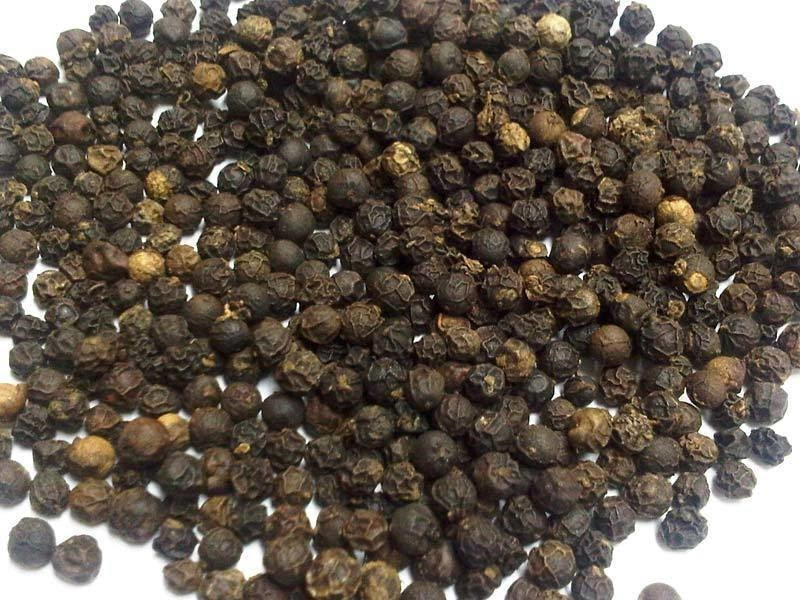 10 - Pepper. Vendors in China were caught selling a mixture of flour and mud under the pretense that it was black pepper.