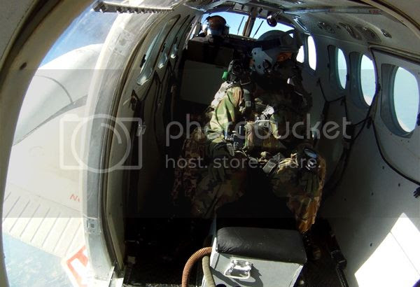 Moments before leaping out of the plane for my HALO jump above Whiteville, Tennessee...on April 29, 2013.