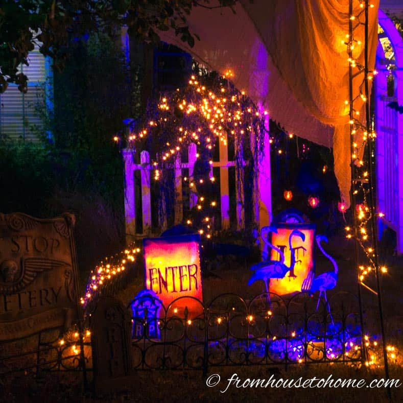 11 Ways To Create Spooky Halloween Lighting  Page 10 of 12  From House To Home