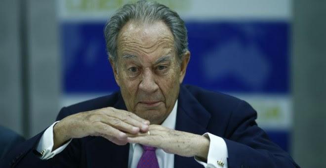 Juan Miguel Villar Mir, presidente de la constructora OHL. EP