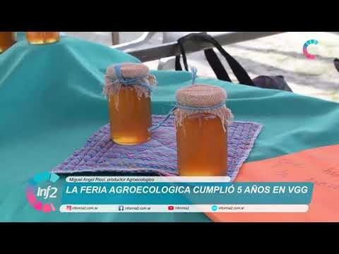 Cinco años cumplió la Feria Agroecologica